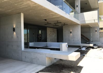 Concrete building